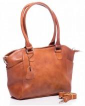L-D3.1 BAG-788 Luxury Leather Bag 39x24x10cm Cognac