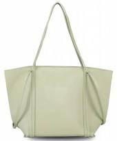Y-D5.2 BAG417-012B PU Bag Light Grey