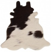 A-C15.2 Leather Coaster with Cowhide Mixed Colors 12.5x13cm