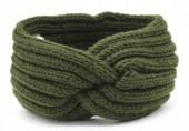 Q-B6.1 H401-001G Knitted Headband Green