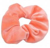 S-E3.1 H305-009A12 Velvet Scrunchie Salmon Pink