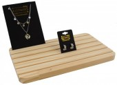 K-E3.1 PK424-036B Wooden Display for Cards 28x17cm