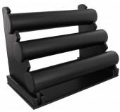 Z-B3.1 Display 3 Layers PU 31x23x17cm Black