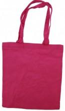 Y-A4.5 Cotton Shopper Bag 42x37cm Pink