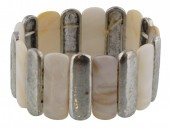 B-D11.10 Bracelet Shells with Metal