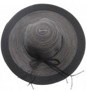 Q-C6.2 HAT504-001D Hat Mixed Colors Black-Grey