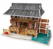 G-D17.2 W3182H 3D Puzzle Chinese Restaurant China - 53pcs