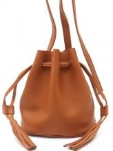 R-J6.2 BAG417-011C PU Pouch Bag Brown