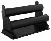 Z-A2.2 Display 2 Layers PU 27x18x15cm Black