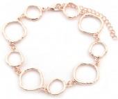 C-F2.2 B2019-005RG Bracelet Circles Rose Gold