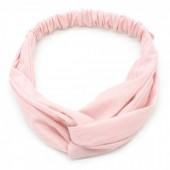 S-B6.1 H305-005 Headband Ribbed Pink