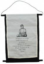 S-I2.4 Cotton Banner Budha XL 74x43cm
