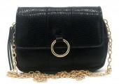Y-B2.5 BAG534-004A Bum-Shoulder Bag incl Belt 19x12x5cm Black