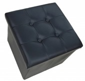 R-F2.1 STOOL506-003 Foldable Stool 38x36cm Black
