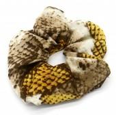S-D1.2 H305-0139C Scrunchie Snake Yellow
