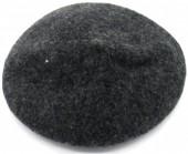 T-H6.1 HAT502-001J Trendy Woolen Baret Adjustable Size Grey