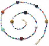 D-C20.1 GL567 Sunglass Chain Beads Multi Color