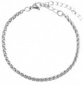 C-C15.3 B126-007S S. Steel Bracelet 3mm Silver