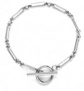 D-B20.3 B020-003S S. Steel Bracelet 18cm