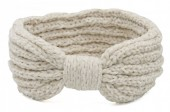 T-B7.3 H401-002B Knitted Headband Extra Soft Off White