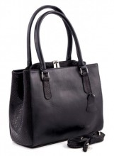 Q-K1.1 Luxury Leather Bag 35x26cm Black