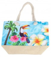 Y-B6.2 BAG528-009 Beach Bag Toucan 36x52cm