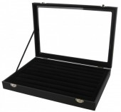 Z-B1.2 PK424-026 Display Box With Glass Top for Rings 35x24x5cm