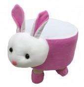 Y-E2.1 STOOL506-002 Plush Stool Rabbit