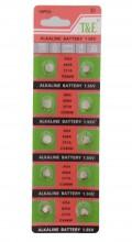 F-A19.2 Watch Battery 10pcs AG4