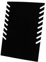 Z-A3.4  PK424-012 Foldable Necklace Display 28x19cm Black