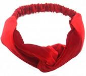 S-C5.1 H305-060A12 Velvet Headband Red
