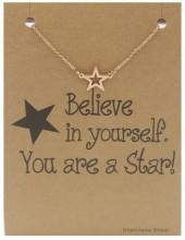E-D2.4  B015-003 Stainless Steel Bracelet Star Rose Gold