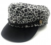 Y-F4.3 HAT402-002B Sailor Cap Animal Print Grey