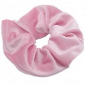 S-G5.1 H305-009A6 Velvet Scrunchie Pink