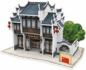 F-D25.2 W3179H 3D Puzzle Chinese Restaurant China - 27pcs