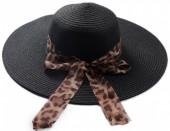 Z-C1.1 HAT504-005C Summer Hat Leopard Black