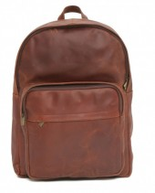Z-B1.2 Large Leather Backpack 47x32x15cm Brown
