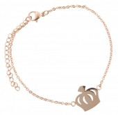 D-C16.11  Stainless Steel 18-23cm Rose Gold B099-006A Crown