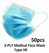 3-PLY Medical Face Mask Type IIR - Blue- 50pcs