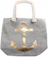 Y-C6.3 BAG530-001A Beach Bag Anchor Grey