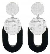 B-E1.2 E1631-032B Earrings 5.5x2.5cm