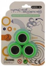 Q-A7.2 Magnetic Rings Set 3pcs Mixes Colors