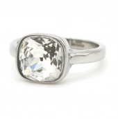 A-A7.7    R015-015 Luxury Stainless Steel Ring White #19