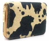 R-J3.2 WA531-001A PU Wallet Faux Cowhide Light Brown